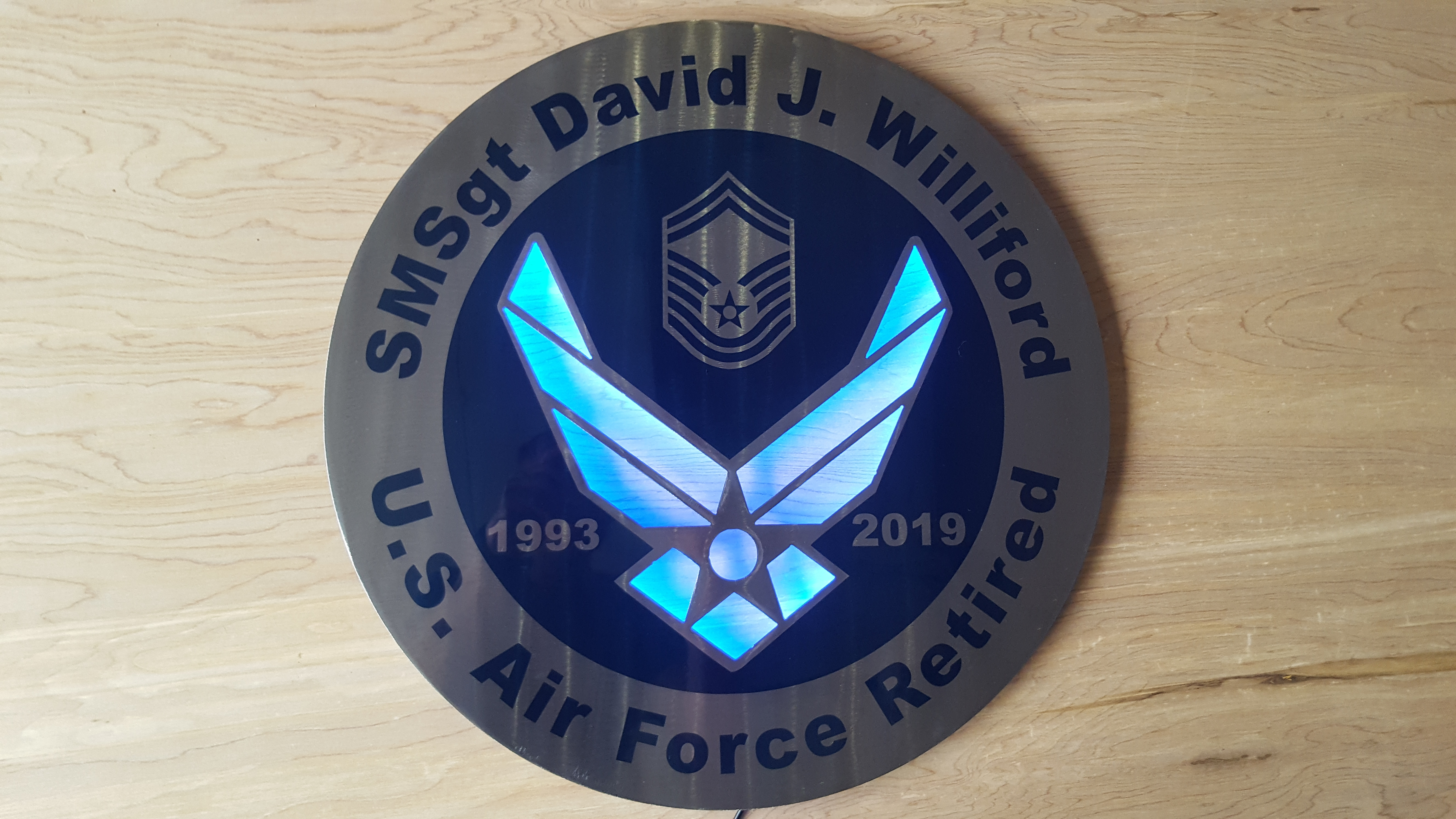 Air Force Retirement Gift - Photo Blog